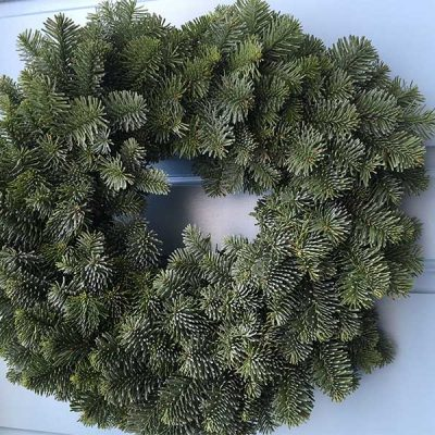 10 inch undecorated Noble Wreath